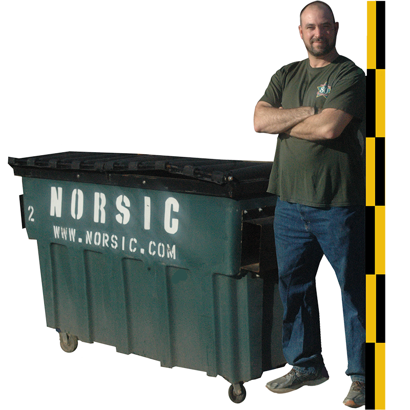 2 Cubic Yard Front Load Dumpster